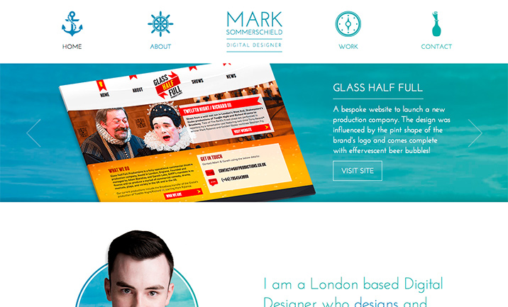 Mark Sommerschield website
