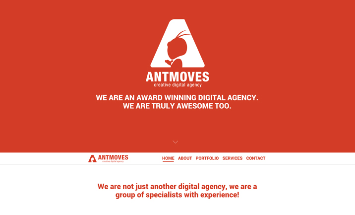AntMoves website