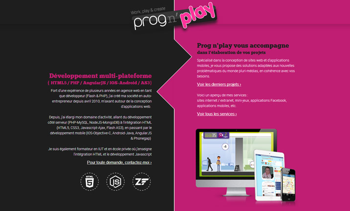 Prognplay - Lille website