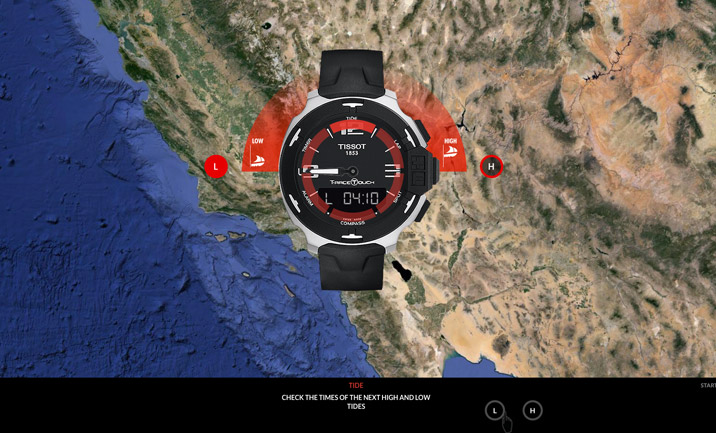 Tissot T-Touch Tactile Watch screenshot 3