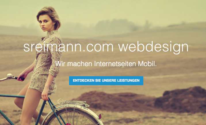 Sreimann Web Design website