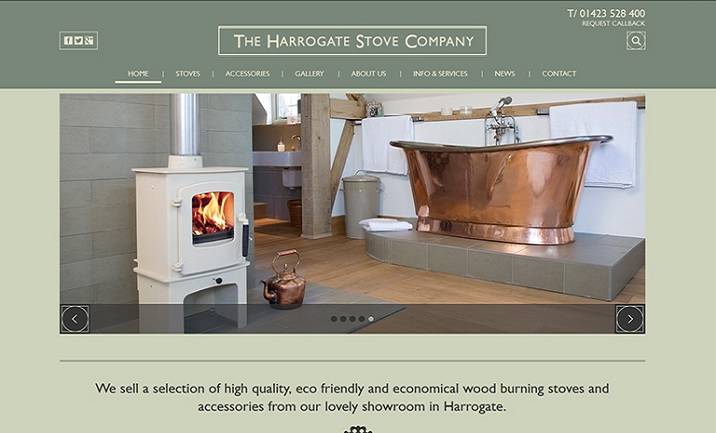 Harrogate Stove  website