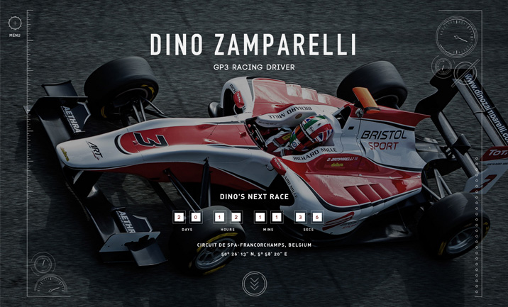 Dino Zamparelli website
