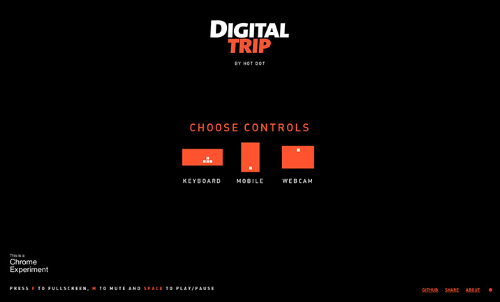 Digital Trip website