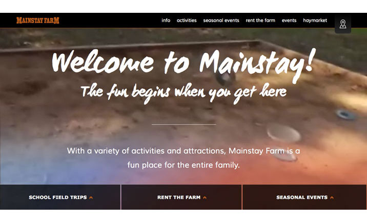 Mainstay Farm website