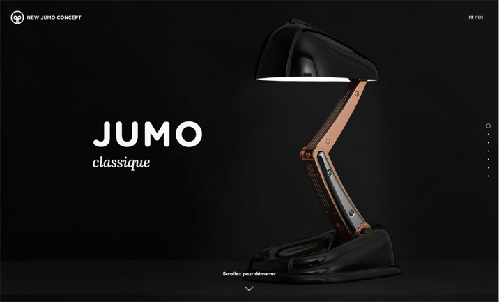 New Jumo Concept website