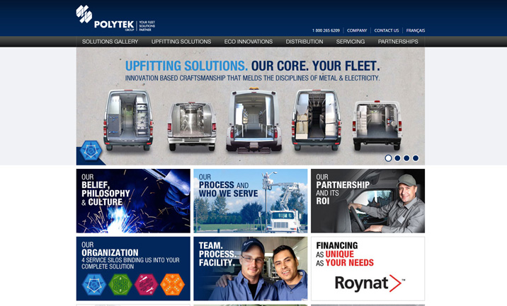 Polytek Group website