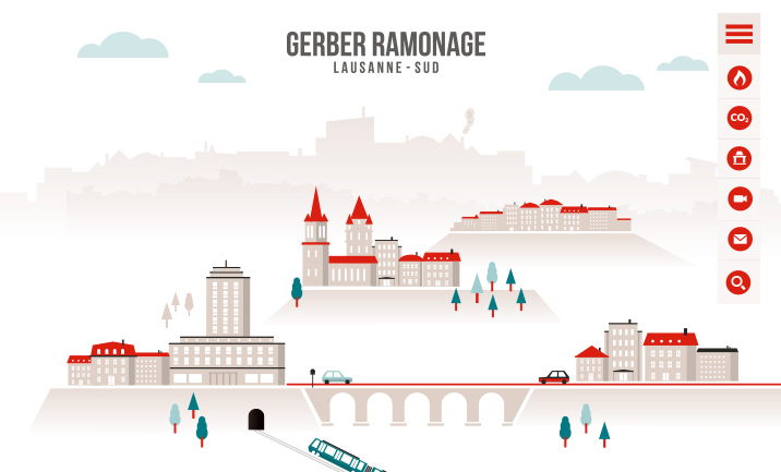 Gerber Ramonage à Lausanne