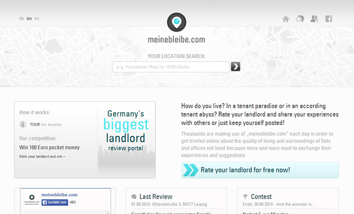 meinebleibe - Rate your landlord