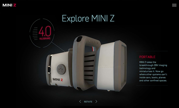 Meet MINI Z website