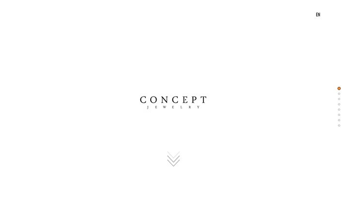 Concept Jewelery website