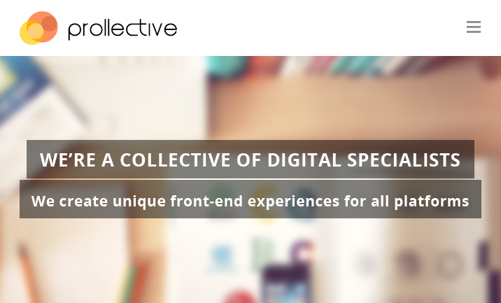 Prollective website