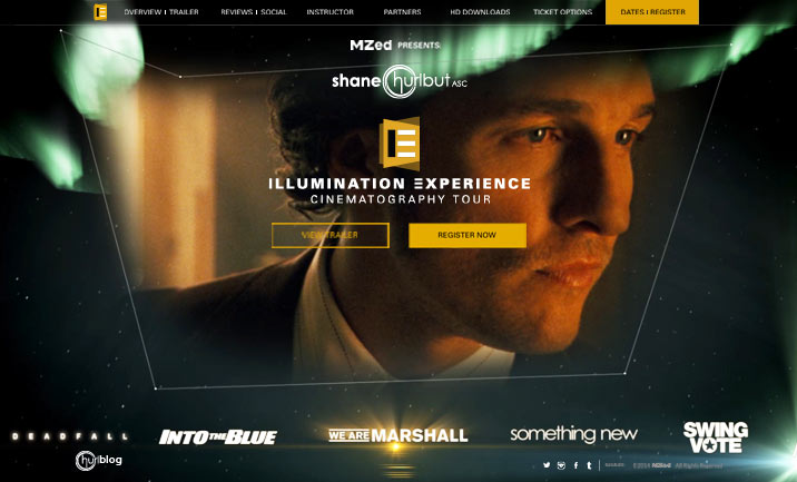 Illumination Experience website