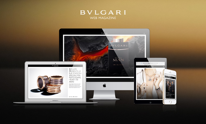 BVLGARI 130th Anniversary  website