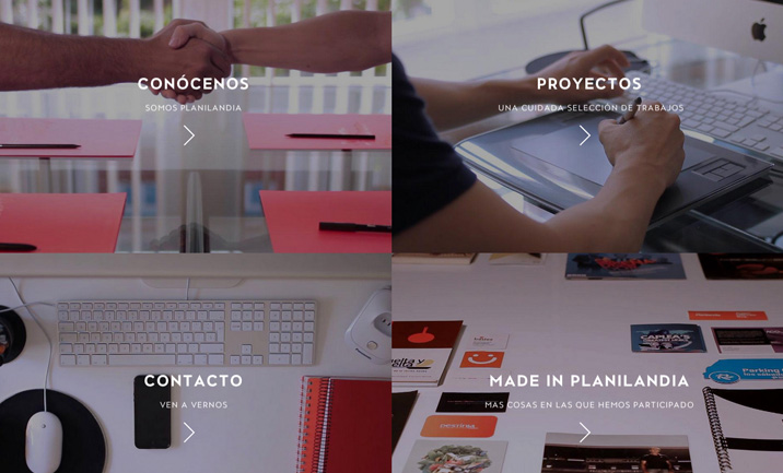 Planilandia Agencia Creativa screenshot 2
