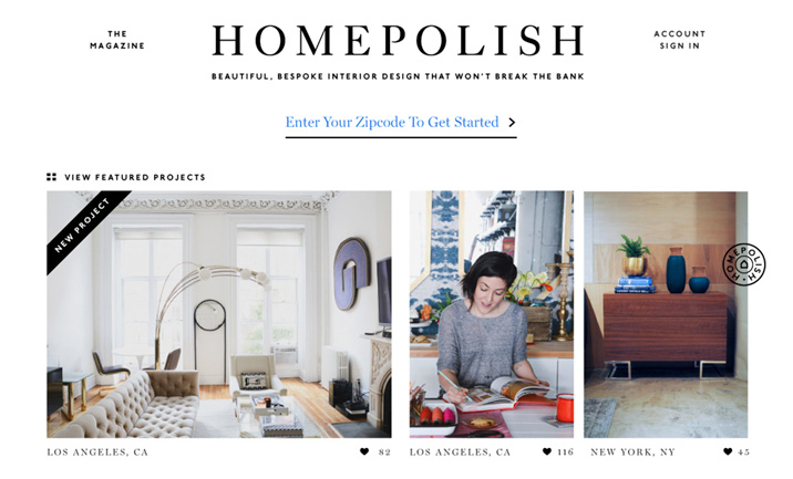 Homepolish Css Design Awards