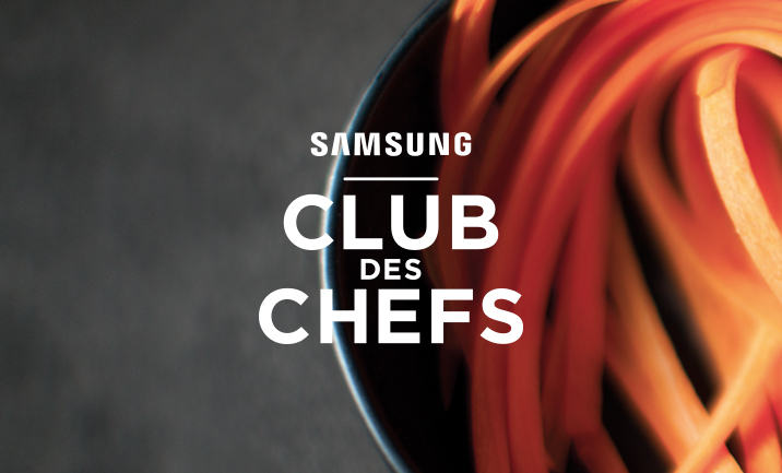 Samsung Club des Chefs website