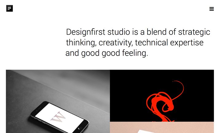 Designfirst website