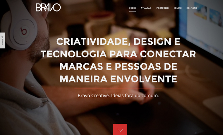 Bravo Creative website