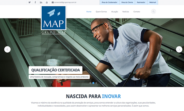 Grupo Map website