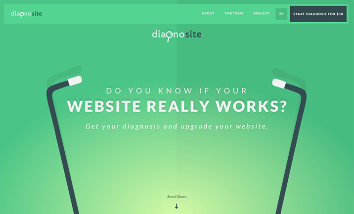 Diagnosite website