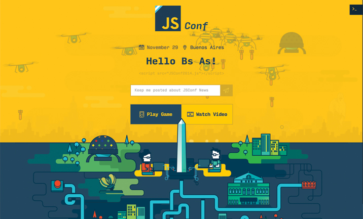 JsConf.ar 2014 website
