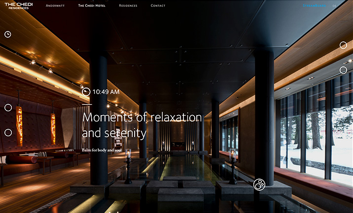 The Chedi Andermatt Residences website