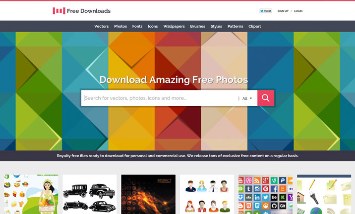 1001 Free Downloads website