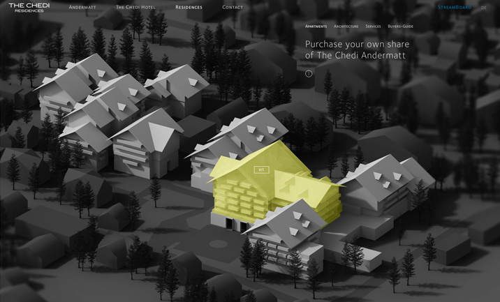 The Chedi Andermatt Residences screenshot 2