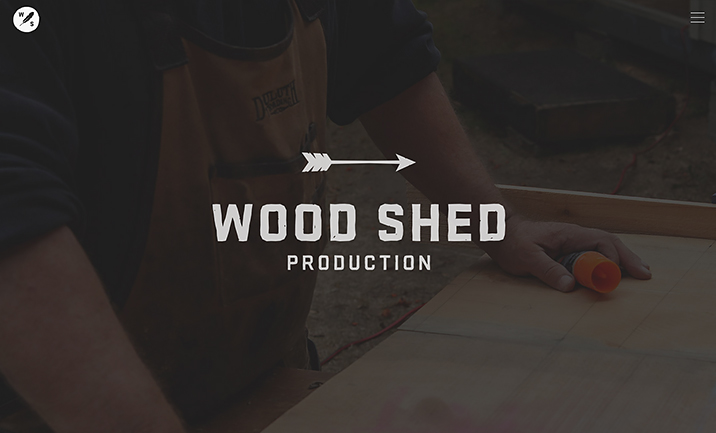 Wood Shed Production website