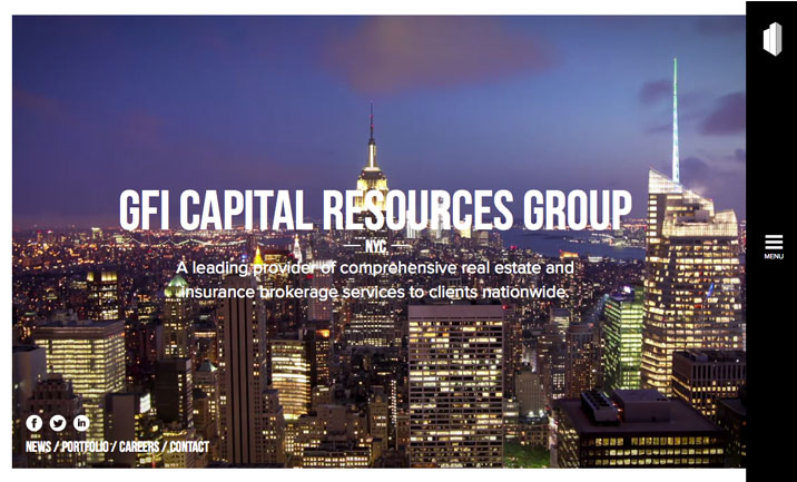 GFI Capital website