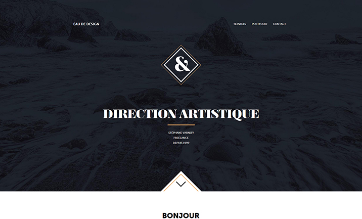 Eau de design website