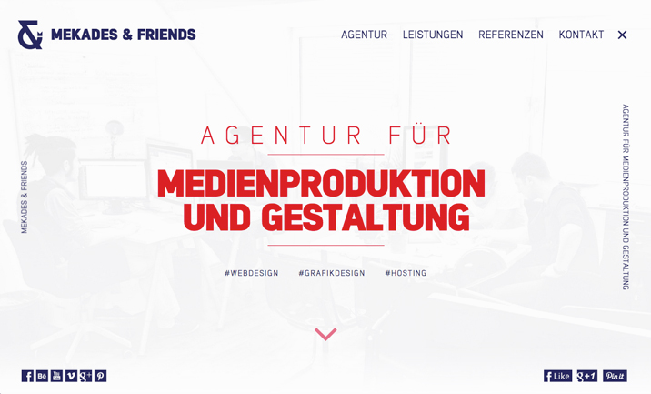 Mekades & Friends website