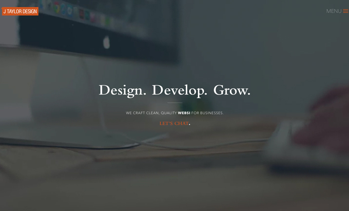 J Taylor Design website
