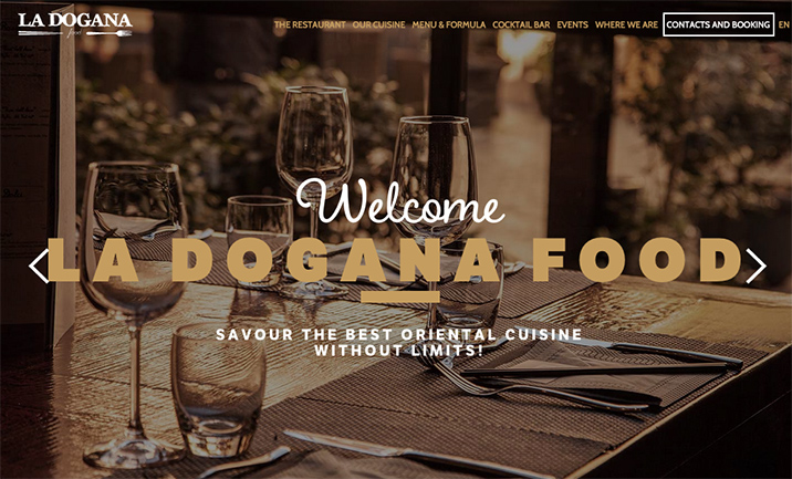 La Dogana Food Restaurant website