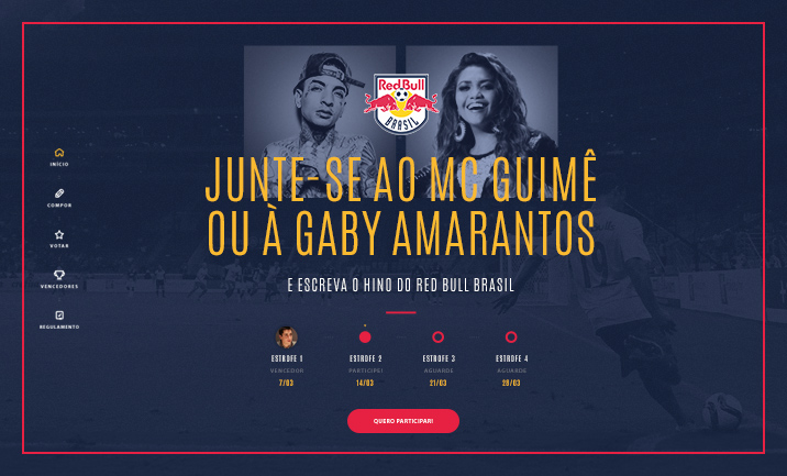 Hino Red Bull website