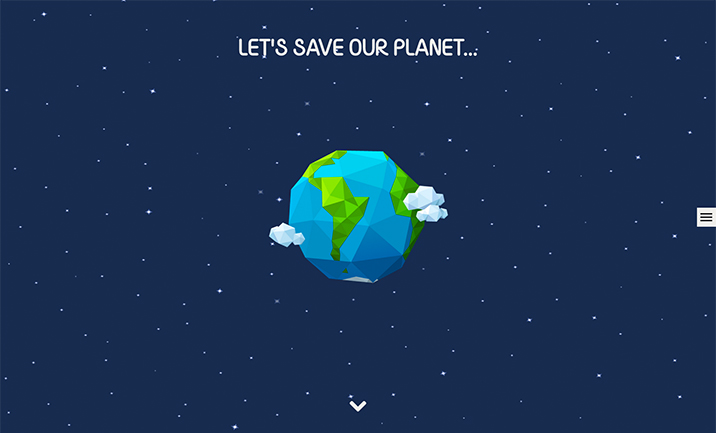 Save The Globe website