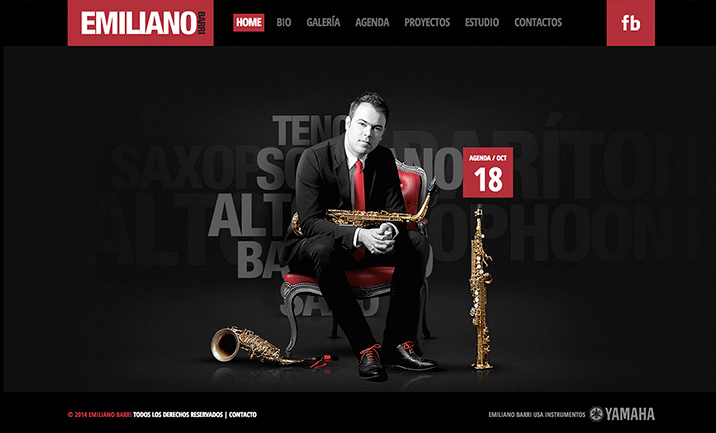 Emiliano Barri website