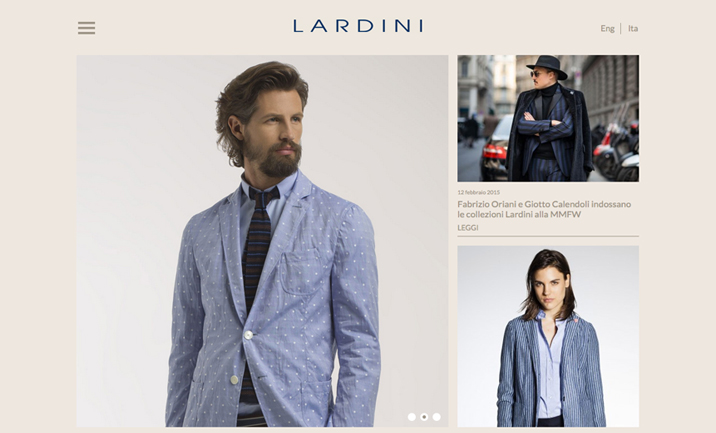 Lardini website