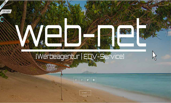 Web-net Werbeagentur website