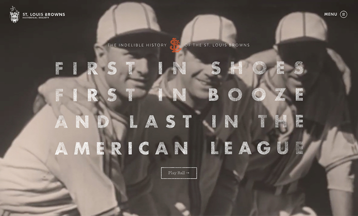 St. Louis Browns Historical Society website