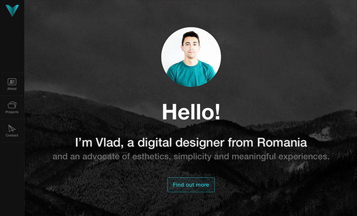 VladDusa | Digital Designer website