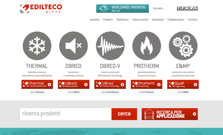 Edilteco, the Company website