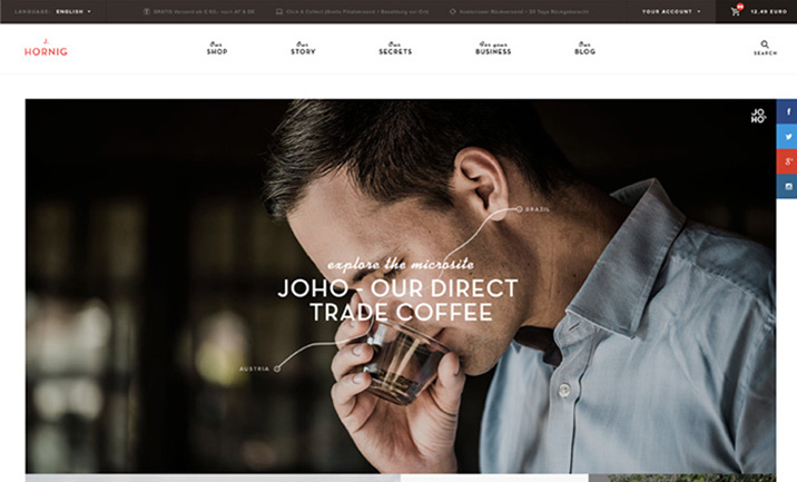 J. Hornig website
