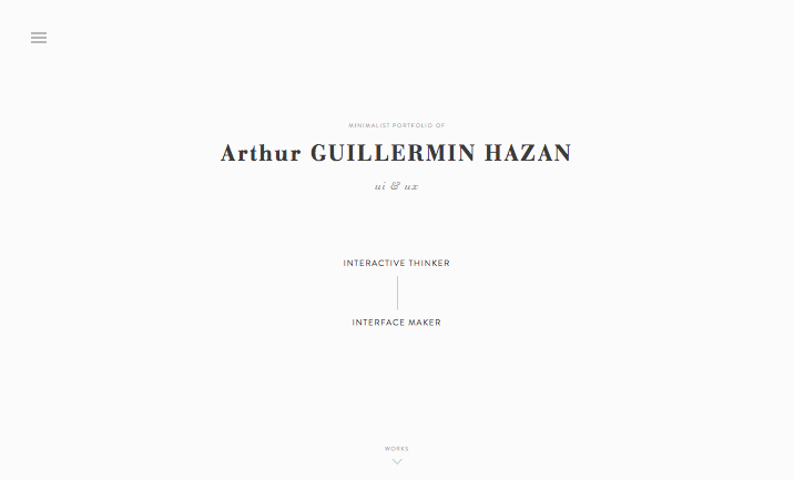 Arthur GUILLERMIN HAZAN - 2015 website