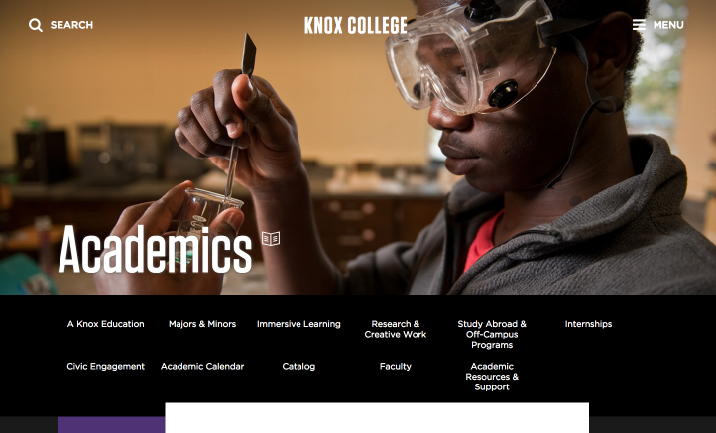 Knox College Academic Calendar.Knox College Designed By Brooklyn Digital Foundry