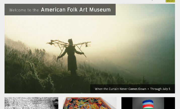 American Folk Art Museum website