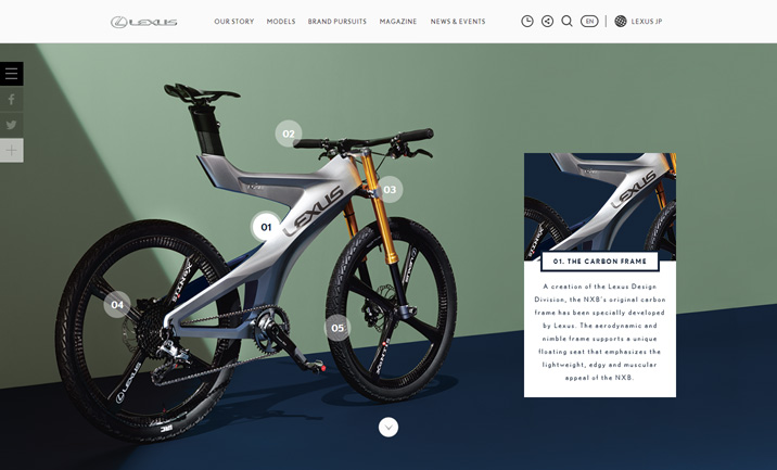 THE BIKE website