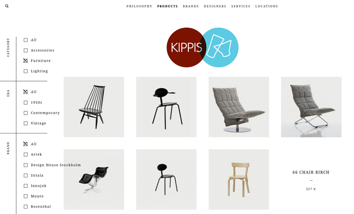 Kippis Design Shop screenshot 3