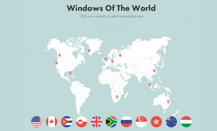 Windows of the World website